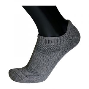 ZeroSock No-Show Slim Fit Bamboo Charcoal Thick Warm Hidden Ankle Sock (3 PAIRS PER BOX)