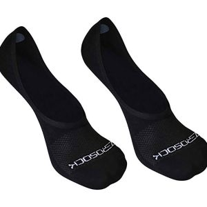 ZeroSock Men's Bamboo Super Low Invisible Socks With Mesh Ventilation, Anti-Tear Double Thread Bottoms & Anti-Slip Gel Heel Grip (4 Pairs Per Box)